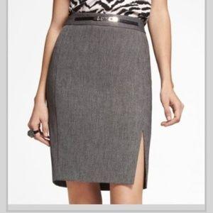 🌸Express High Waisted Tweed Pencil Skirt
